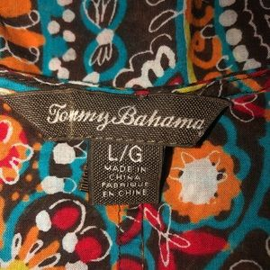 Tommy Bahama Tops - Tommy Bahama multi color shirt short sleeve Large